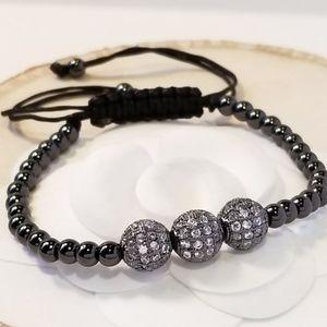 NEW Spheres Pave CZ Bracelet